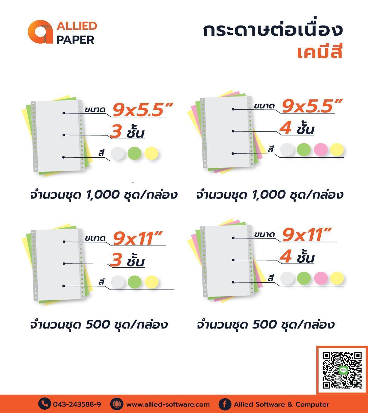 กระดาษต่อเนื่อง